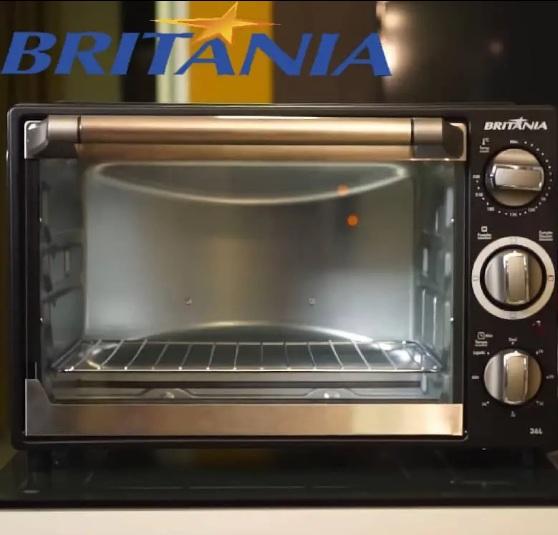 Forno Eletrico Britania Bfe36p 36l Preto