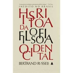Box Livro Historia Da Filosofia Ocidental 3 Volumes (Capa Dura) - Bertrand Russell