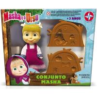 Conjunto Masha E O Urso - Brinquedos Estrela - Multicor