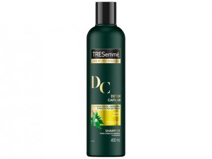 Shampoo TRESemmé Detox Capilar – Cabelos Purificados e Nutridos 400ml