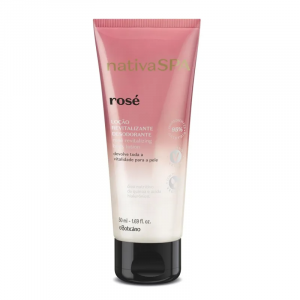 Nativa SPA Loção Desodorante Revitalizante Corporal Rose 50ml