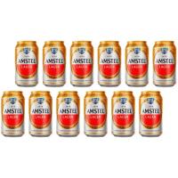 5 Packs Cerveja Amstel Pilsen 350ml - 12 (60) Unidades