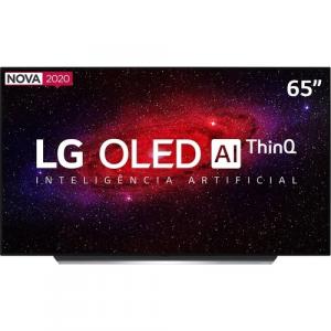 Smart TV OLED 65'' LG OLED65CX Ultra HD 4K WiFi Bluetooth HDR Inteligência Artificial ThinQAI Smart Magic Google Assistente Alexa