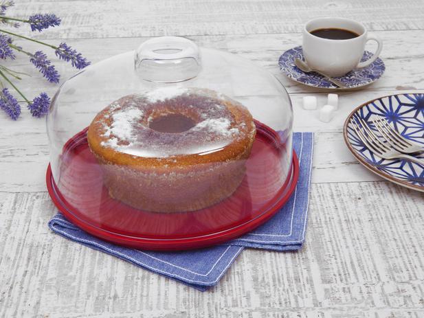 Boleira Redonda com Tampa Coza Cozy – Cake 25cm