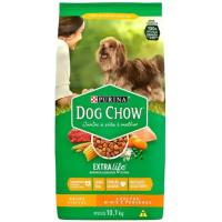 2 Unidades Ração para Cachorro Dog Chow Premium ExtraLife - Saúde Visível Adulto 10,1kg