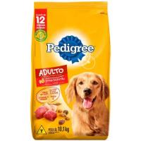 2 Pacotes de Ração para Cachorro Premium Pedigree - Carne Frango e Cereais Adulto 10,1kg cada