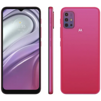 "Smartphone Motorola Moto G20 64GB Pink 4G 4GB RAM Tela 6,5"""