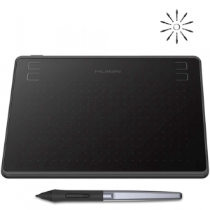 Mesa Digitalizadora Huion HS64 com Caneta sem Bateria para Android Windows MacOs