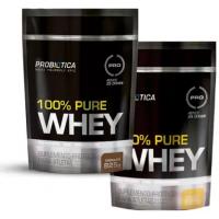Whey 100% Puro 825g Probiotica Vários Sabores