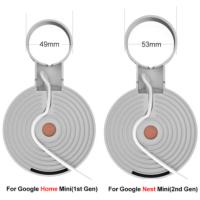 Suporte De Parede com tomada Para Google Home Mini e Google Nest Mini