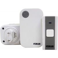 Campainha Digital sem Fio Foxlux – 36 toques – Bivolt – 1 Campainha + 1 Acionador + 1 Bateria p/acionador