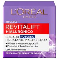 Creme Anti-idade L'Oréal Paris Revitalift Hialurônico Noturno - 49g