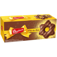 6 Caixas Pão de Mel Bauducco com Cobertura de Chocolate ao Leite 240g - 8 Unidades Cada