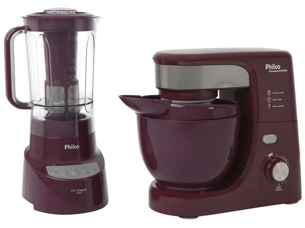 Kit Premium Wine Philco com Liquidificador + Batedeira