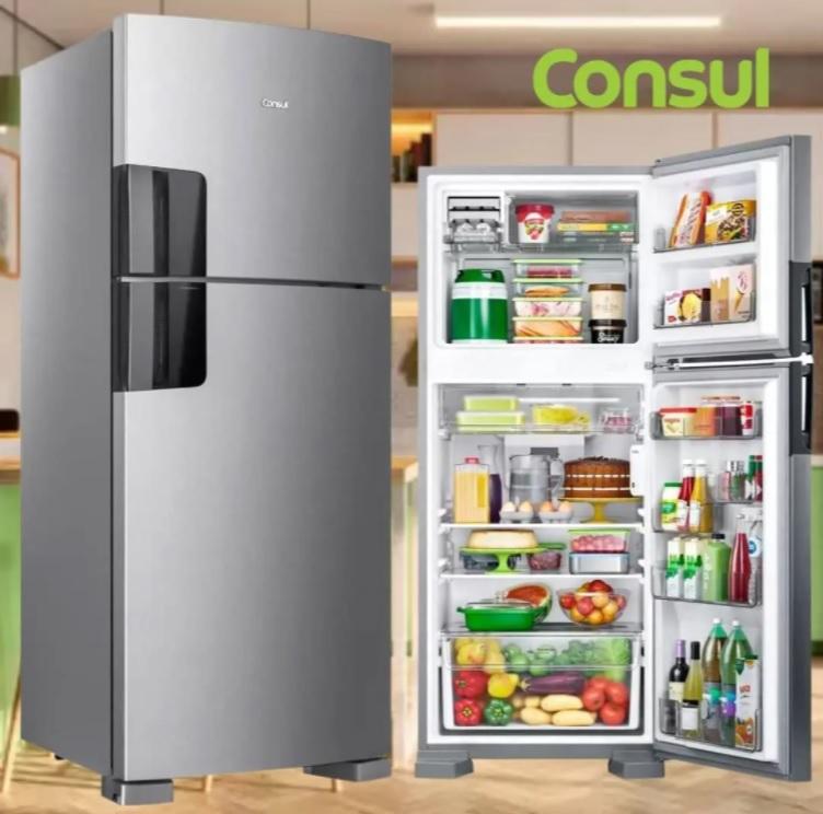 Geladeira/Refrigerador Consul Frost Free – Duplex 410L CRM50HK / CRM50HB