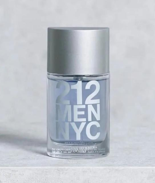 212 Men Nyc Carolina Herrera – Perfume Masculino – Eau de Toilette-30ml
