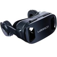 Óculos 3D Realidade Virtual Com Headphone Warrior - JS086