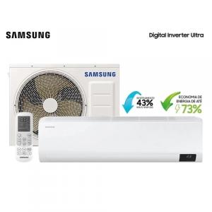 Ar Condicionado Split Hi Wall Samsung Digital Inverter Ultra 12.000 BTU/h Frio 220V - AR12TVHZDWKNAZ