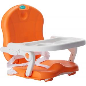 Cadeira De Alimentação Laranja/Branco Bebeliê - CAP-02