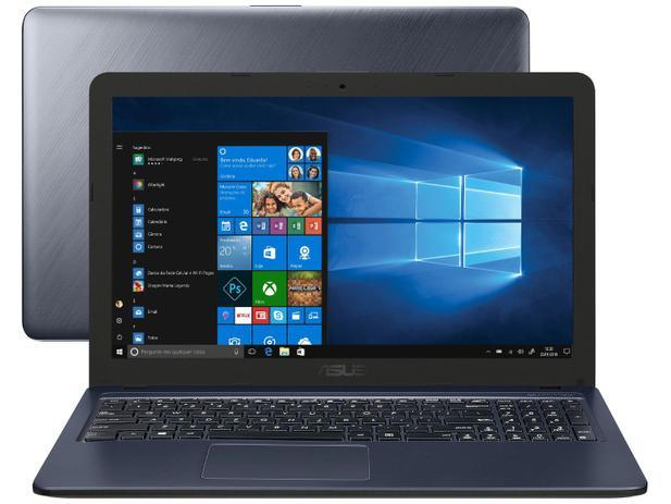"Notebook Asus VivoBook X543UA-DM3459T – Intel Core i3 4GB 256GB SSD 15,6"" Full HD LED"