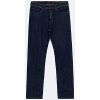 Calça Jeans Reta Lisa Azul - Renner