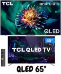 """Smart TV 4K QLED 65"""" TCL C715 Android – Wi-Fi Bluetooth HDR 3 HDMI 2 USB"""