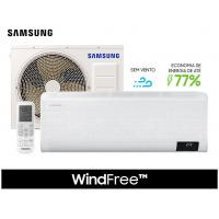 Ar Condicionado Split Inverter WindFree 12.000 BTU/h Quente e Frio Monofásico AR12TSHCBWKNAZ 220 Volts