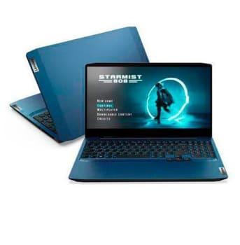 Notebook Lenovo, Intel CoreT i7 10750H, 8GB, 512GB SSD, 15,6″, GTX1650, Ideapad Gaming 3i, Chameleon Blue – 82CG0005BR – Magazine Ofertaesperta