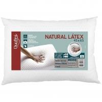 Travesseiro De Látex Natural - Capa 100% Algodão 45x65 Cm - Duoflex - Marketplace