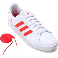 Tênis Adidas Internacional Grand Court Masculino - Vermelho+Branco