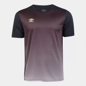 Camisa Umbro TWR Degrade Masculina - Preto Tam P