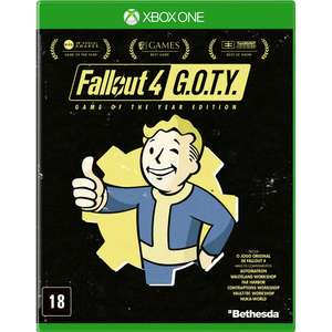 Fallout 4: Game Of The Year - XBOX ONE (mídia física)