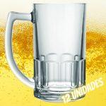 Conjunto Caneca Cerveja Bristol 340ml 12 Peças – Nadir