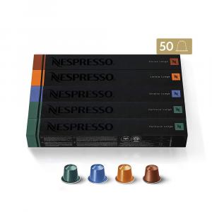 Nespresso 50 Cápsulas de Café Lungo