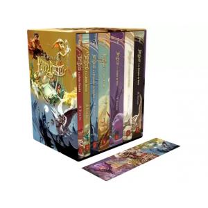 Box de Livros Harry Potter Edição Especial com Marcador de Página - J.K. Rowling