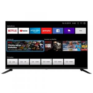 Smart TV LED 43'' Full HD Philco - PTV43E10N5SF com Processador Quad Core Mídia Cast Wi-Fi HDMI e USB