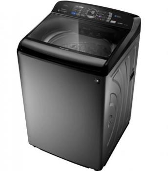 Lavadora de Roupas Panasonic 17kg NA-F170P6T com Tecnologia Antibactéria AG Titânio