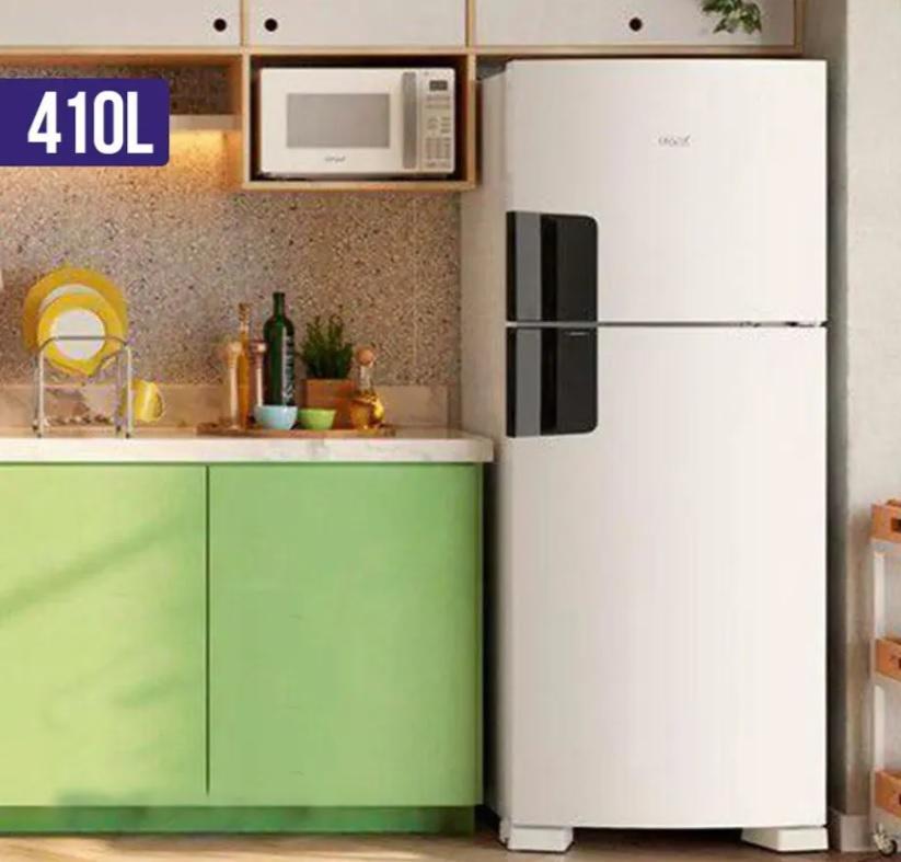 Geladeira Consul Frost Free Duplex CRM50 410L Branca – 110v