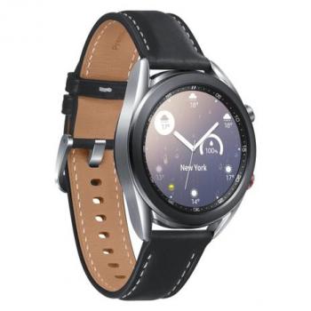Smartwatch Samsung Galaxy Watch3 41mm LTE, Aço Inoxidável – Prata