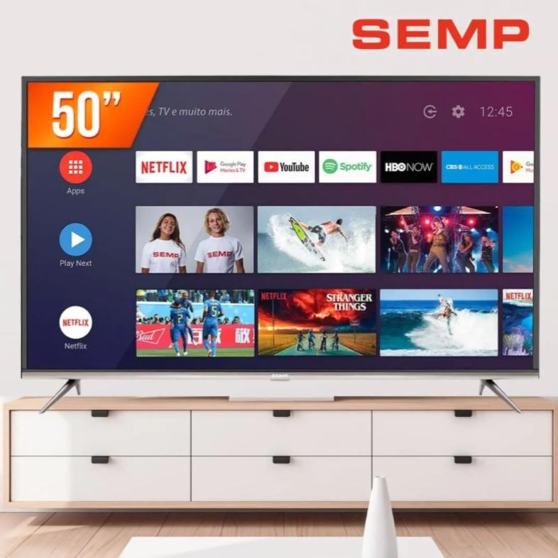 Smart TV LED 50″ Ultra HD 4K Semp 50SK8300 3 HDMI 2 USB