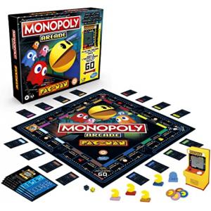 Jogo Monopoly Arcade Pacman - E7030 - Hasbro