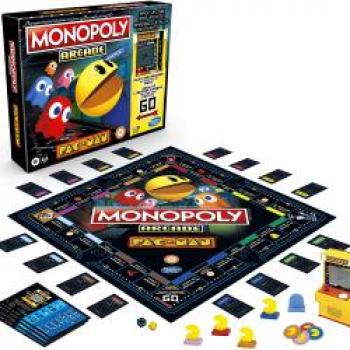 Jogo Monopoly Arcade Pacman – E7030 – Hasbro