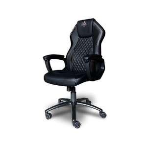 Cadeira Gamer Elements Elemental Nemesis Até 140Kg Apoio De Braço - vermelho/preto