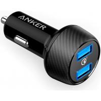 Carregador Veicular Anker PowerDrive com 2 portas USB 3.0 - Preto