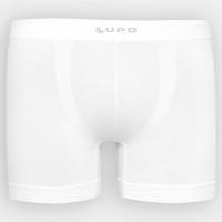 3 Unidades Cueca Boxer Lupo Micromodal - Branco