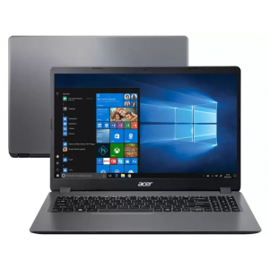 """Notebook Acer Aspire 3 i3-1005G1 8GB SSD 256GB Tela 15,6"""" HD W10 - A315-56-3090"""