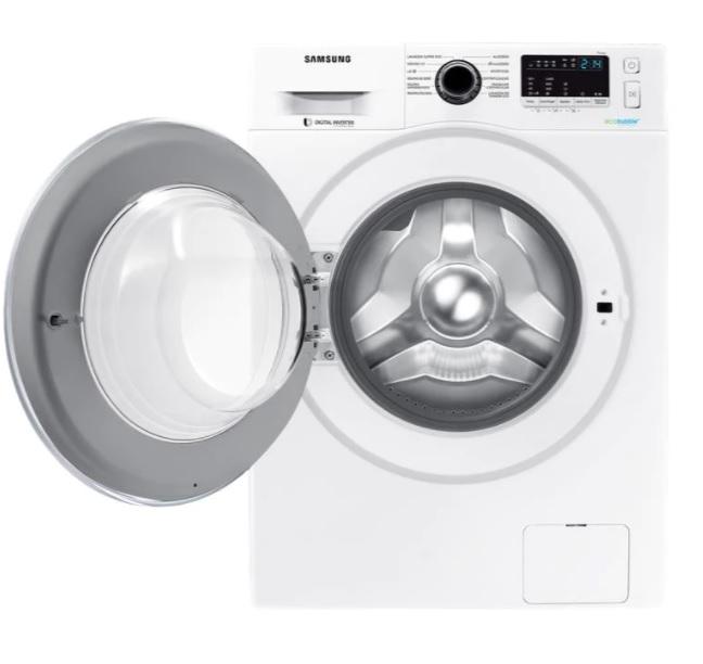 Lavadora de Roupas Samsung WW4000 WW11J4453JW/AZ – 11Kg Cesto Inox 12 Programas de Lavagem