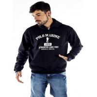Blusa Moletom Polo Marine Masculina Coleção de Inverno