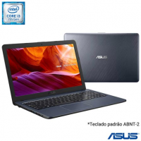 Notebook Asus VivoBook i3-7020U 4GB SSD 256GB Intel Graphics 620 15,6