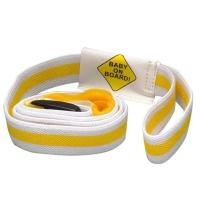 Pulseira Para Passear, Safety 1st, Amarelo/Branco